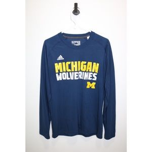 Adidas l Michigan Wolverines l U of M Long Sleeve